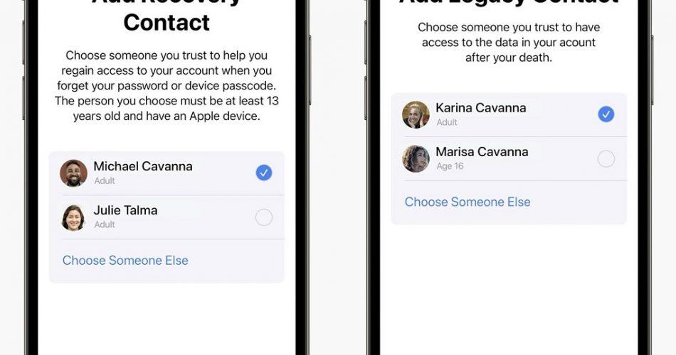 Apple, Ölürseniz Hesabınıza Kimlerin Erişebileceğini Belirlemenize İzin Veriyor