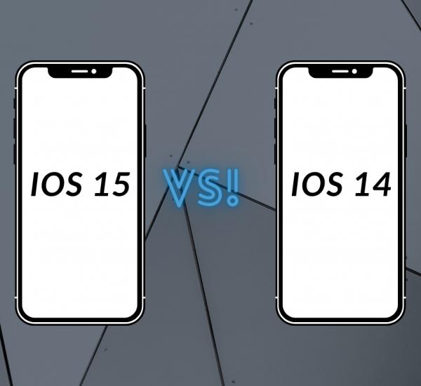 iOS 15 vs iOS 14